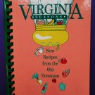 Junior League of Richmond ~ Virginia Seasons Cookbook New Recipes Old Dominion