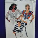 Vogue Pattern # 9261 UNCUT Misses Top Bandeau Size 6 8 10