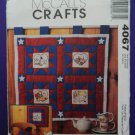 McCalls Pattern # 4067 UNCUT American Quilt Wall Hanging