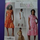 Simplicity Pattern # 3877 UNCUT Misses Dress Top Skirt Size 6 8 10 12 14