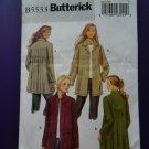 Butterick Pattern # 5533 UNCUT Misses Coat / Jacket Size 16 18 20 22