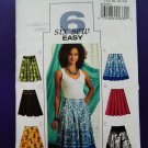 Butterick Pattern # 4686 UNCUT Misses Skirt Variations Size 14 16 18 20