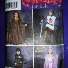 Simplicity Pattern # 5520 UNCUT Children's Costume Princess Knight Size 3 4 5 6 7 8