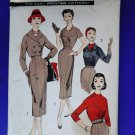 Vintage Advanced Pattern # 8114 UNCUT Misses Slim Skirt Bolero Jacket Bust 38""