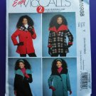 McCalls Pattern # 5988 UNCUT Misses Reversible  Coat Size XS Small Medium