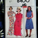 Simplicity Pattern # 8400 UNCUT Misses KNIT Dress Size 14 Vintage 1978