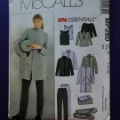 McCalls Pattern # MP 260 /4606 UNCUT Spa Wardrobe Top Pants Size Large XL