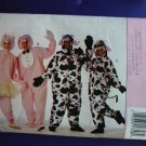 Butterick Pattern # 3052 UNCUT Cow Pig Costume ALL Sizes