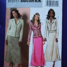 Butterick Pattern # 4935 UNCUT Misses Jacket Skirt Size 14 16 18 20