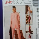 McCalls Pattern # 4081 UNCUT Misses Wardrobe Tunic Pants Skirt Size 8 10 12 14