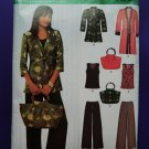 Simplicity New Look Pattern # 6920 UNCUT Misses Tunic Top Pants Size 10 12 14 16 18 20 22