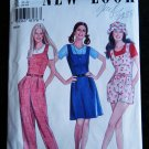 New Look Pattern # 6381 UNCUT Misses Jumpsuit Dress Size 6 8 10 12 14 16