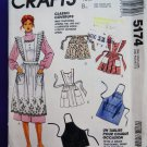 McCalls Pattern # 5174 UNCUT Misses Apron All Sizes