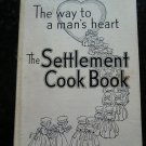 Vintage 1951 Settlement Cookbook Way to a Man's Heart Front Scratch