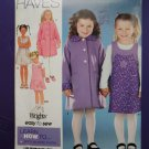 Simplicity Pattern # 0689 UNCUT Girls Dress Coat Top Size 5 6 7 8