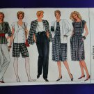 Vogue Pattern # 8617 UNCUT Misses Top Jacket Pants Shorts Skirt Size 8 10 12