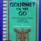 Gourmet on the Go Chinese Cookbook Vintage 1970