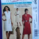 McCalls Pattern # 5847 UNCUT Misses Dress Sleeve Variations Size 14 16 18 20 22