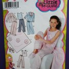 Simplicity Pattern # 5358 UNCUT Girls Stretch Knit Lounge Pants Top Size 8 10 12 14 16
