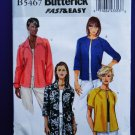 Butterick Pattern # 5467 UNCUT Misses Jacket Size16 18 20 22 24