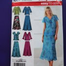 Simplicity Pattern # 4221 UNCUT Misses Top Skirt Size 10 12 14 16 18