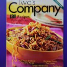 Weight Watchers Magazine Two's Company Cookbook  WW Magazine with 131 Recipes