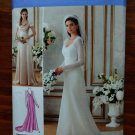 Simplicity Pattern # 1909 UNCUT Misses Bridal Evening Gown Size 14 16 18 20 22