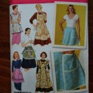 Simplicity Pattern # 4282 UNCUT Misses Retro Vintage Apron Size Small Medium Large