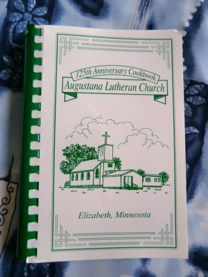 Elizabeth Minnesota Lutheran Church Cookbook 2001