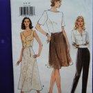 Very Easy Vogue Pattern # 9415 UNCUT Misses Skirt Pants Size 6 8 10