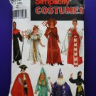 Simplicity Pattern # 5930 UNCUT Children's Costume Boys Girls Size Small Medium Large