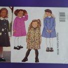 Butterick Pattern # 3270 UNCUT Girls Coat Size 2 3 4 5
