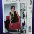 McCalls Pattern # 4718 UNCUT Misses Lined Jacket Skirt Pants Top Size10 12 14 16
