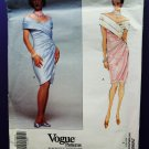 Vogue Pattern # 2688 UNCUT Misses Formal Dress Size 8