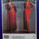 Rare Vogue Pattern # 1046 UNCUT Misses Formal Dress Coat Size 8 Givenchy