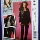 McCalls Pattern # 5515 UNCUT Misses Lined Motorcycle Jacket Pants Size 10 12 14 16
