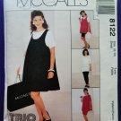 McCalls Pattern # 8122 UNCUT Misses Maternity Dress Pants Size 8 10