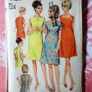 Simplicity Pattern # 7120 UNCUT Misses Dress Size 12 Bust 32 Vintage 1967