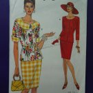 Vogue Pattern # 8348 UNCUT Misses Summer Top Skirt Size 6 8 10