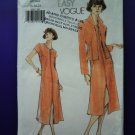 Vogue Pattern # 9991 UNCUT Misses Dress Jacket Size 18 20 22