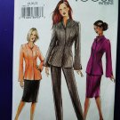 Vogue Pattern # 7769 UNCUT Misses Womans Jacket Pants Skirt Size 18 20 22