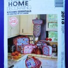 McCalls Pattern # 2018 UNCUT Kitchen Essentials Covers