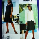 Vogue Pattern # 1772 UNCUT Misses Jacket and Dress DKNY Size 8 10 12