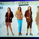 Vogue Pattern # 1993 UNCUT Misses Jacket Dress Top Pants Size 18 20 22