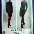 Vogue Pattern # 2569 UNCUT Misses Wrap Dress Anne Klein Size 14 16 18