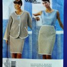 SOLD! Vogue Pattern # 1741 UNCUT Misses Designer Series Jacket Top Skirt Size 18 20 22