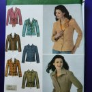 Simplicity Pattern # 4491 UNCUT Misses Lined Jacket Variations Size 14 16 18 20 22