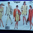 Vogue Pattern # 2659 UNCUT Misses Wardrobe Jacket Skirt Pants Dress Size 8 10 12