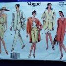 Vogue Pattern # 2659 UNCUT Misses Wardrobe Jacket Skirt Pants Dress Size 8 10 12