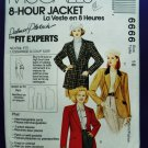 McCalls Pattern # 6666 UNCUT Misses Blazer Size 18 Bust 40 inches
